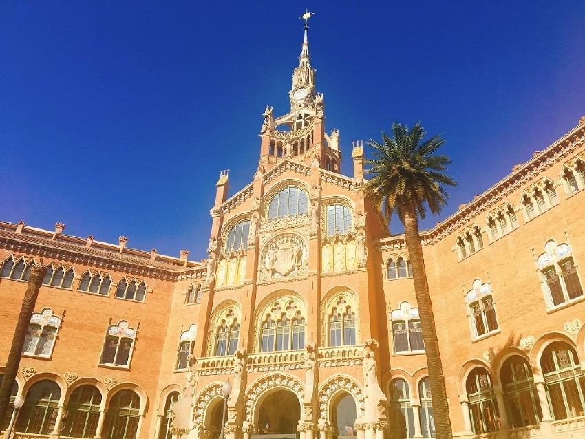 【スペイン・バルセロナ】おすすめ穴場 サンパウ病院