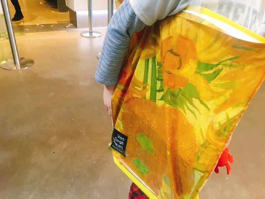 6才・9才子連れでゴッホ美術館