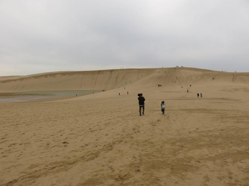 子連れで電車の旅と鳥取砂丘