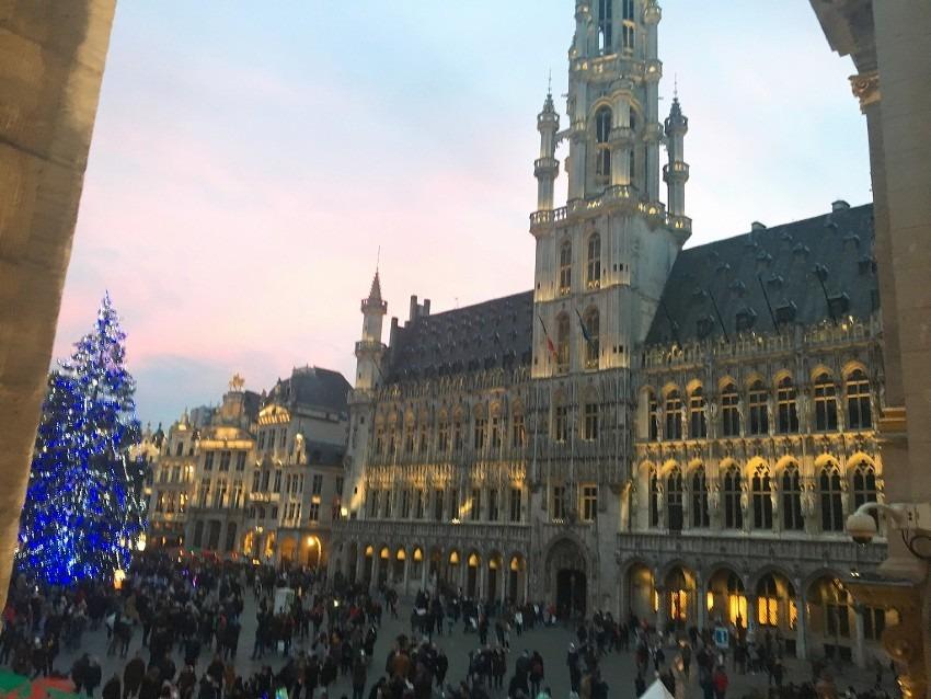 2018年12月 子連れベルギー冬の観光旅行