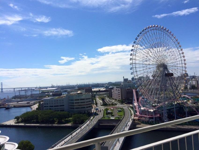 横浜で三世代観光