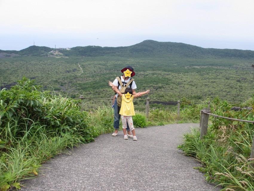 子連れ三原山トレッキング – 伊豆大島3日目