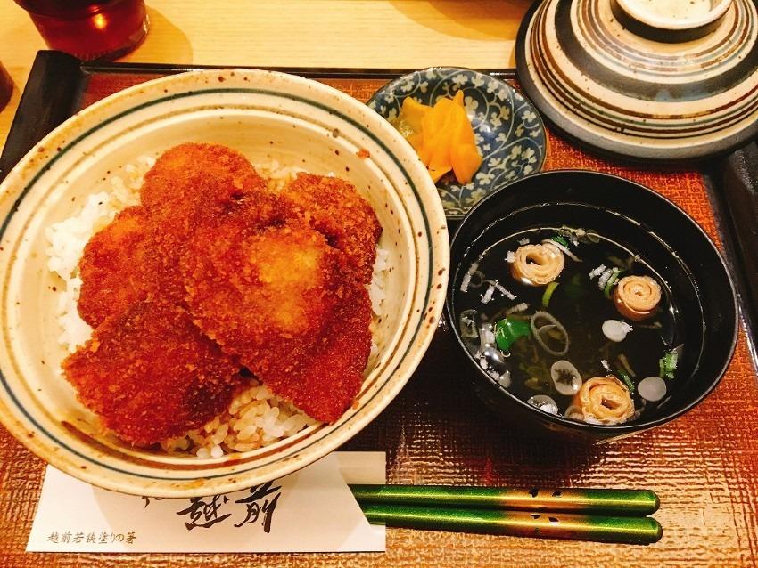福井県「ソースかつ丼」【子供と食べたご当地名物料理】